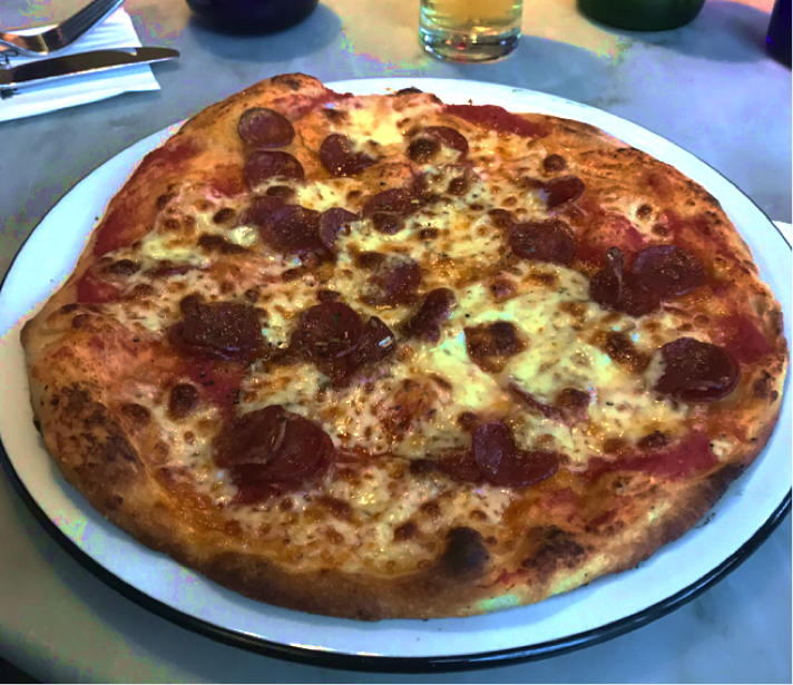 pizza from Pizza Express