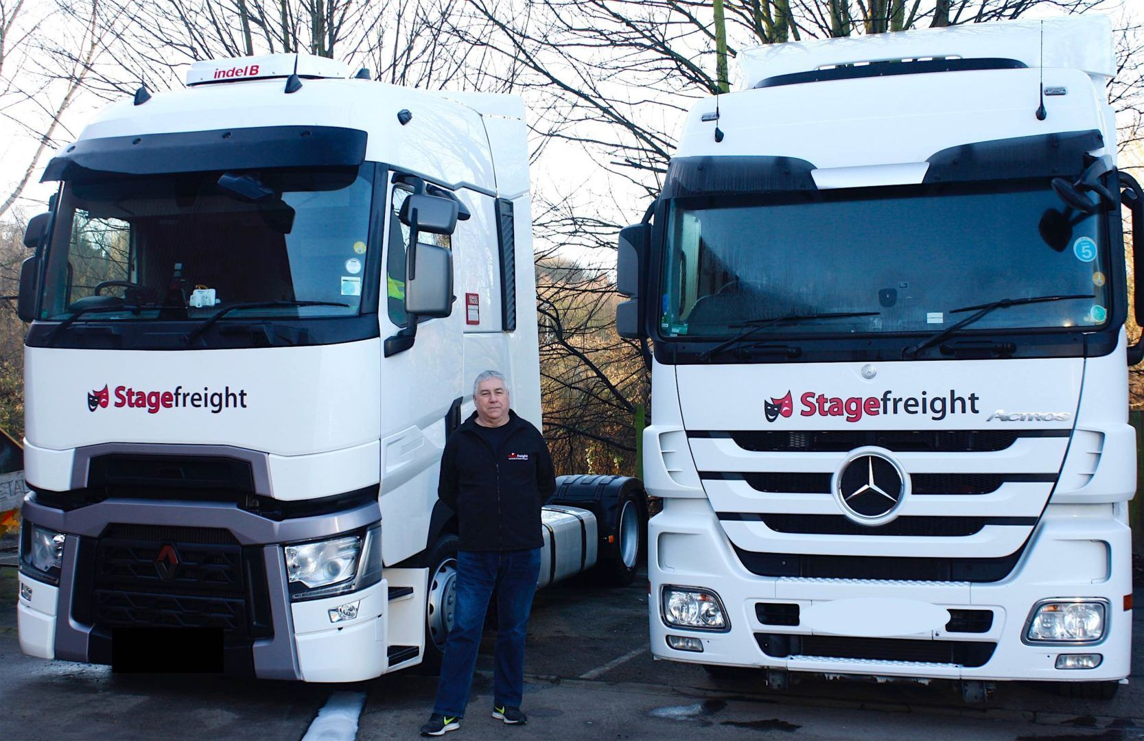 Ross Hemsworth at Stagefreight Event Transport